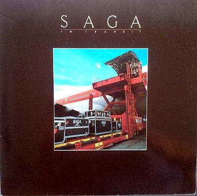 Saga – In Transit LP 1982 vinyl Germany super stav EX Live