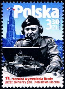 Polsko 2019 Známky Mi 5169 ** Druhá světová válka Nizozemí osvobození