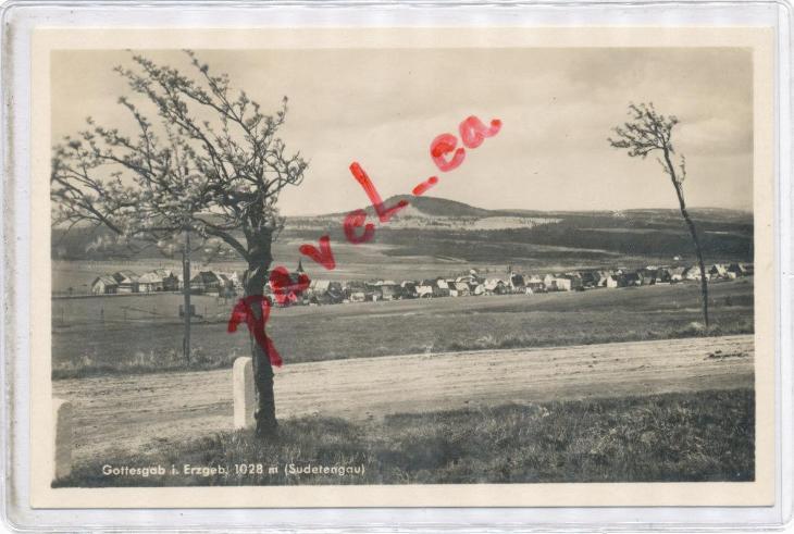 Krušné hory Boží Dar Jáchymov Ostrov hospoda Karlovy Vary 2899 - Pohlednice