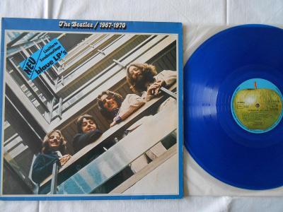 The Beatles 1967 - 1970 2xLP 1978 Blue vinyl Germany rar jako nove NM