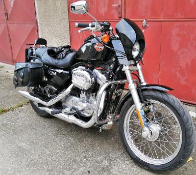 H-D Harley Davidson Sportster XL 883 s doplnky 19663 km tacho viz fota
