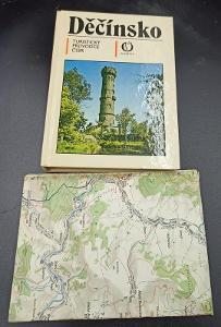 Kniha - Děčínsko vč. mapy -1984/253 str...(12397)