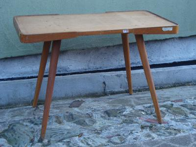 retro stolek Jiroutek  60 leta