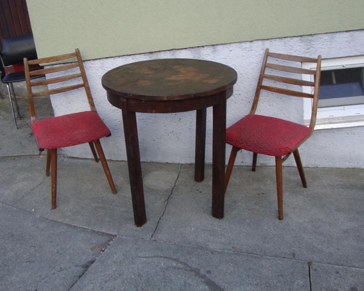 retro kavarenyk stolek - Starožitnosti