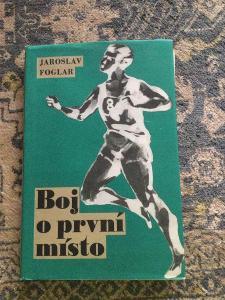 Kniha Boj o první místo Jaroslav Foglar