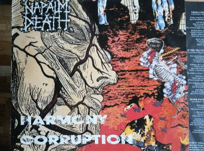 LP NAPALM DEATH - Harmony coruption