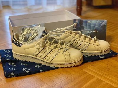 Tenisky Sneakers: FOOTSHOP X ADIDAS SUPERSTAR BLUEPRINTING (520 kusů)