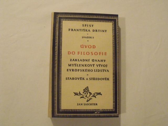 František Drtina-Úvod do filosofie - Knihy