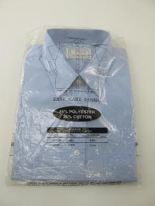 RETRO Pánská košile vel. eur 175/ 44 dlouhý rukáv zn. Classic club