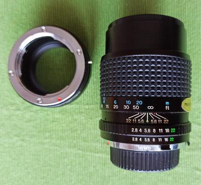 Tokina 135mm/2.8 + adaptér pro Sony E mount