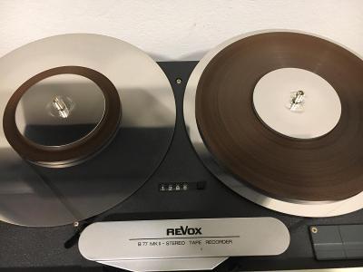 Talíře na kotoučový magnetofon pro PROFESSIONAL pásky v ceně 2ks + 2m