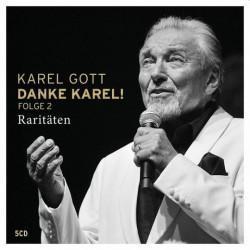 Karel Gott - Danke Karel! 2-Raritäten, 5CD, 2020