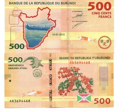 Burundi 500 franku UNC / N
