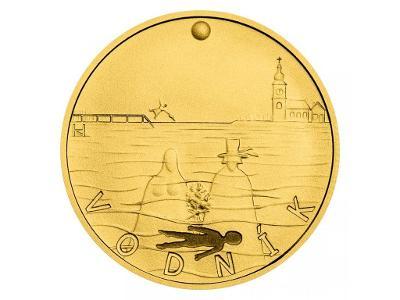 Zlatý dukát K. J. Erben, Kytice - Vodník stand
