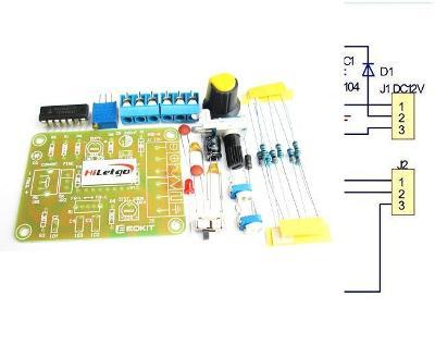 Signální generátor s ICL8038 stavebnice