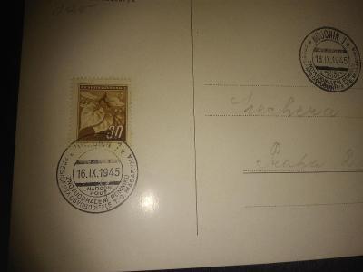 Dopisnice z roku 1945 - 30ks
