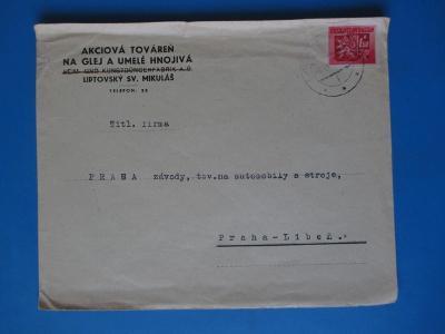 *CL77 * Celistvost * ČSSR  1945 - 1992 * Firemní  obálka