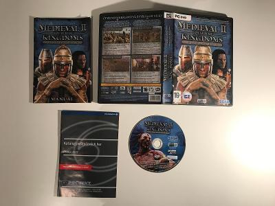 Medieval II Total War Kingdoms (datadisk) CZ původní