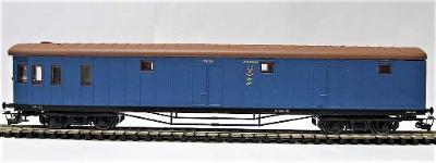 PERESVET 2221 Vůz pro zavazadla (modrý) SZD III / TT *RAR*