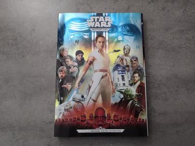 Vzácné sběratelské album Star Wars se všemi 48 kartičkami S 3D brýlemi