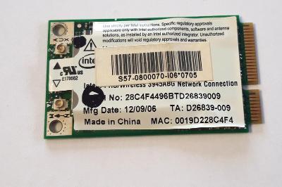 Wifi modul 3945ABG z MSI MegaBook L745