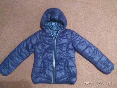 dívčí zimní bunda vel.134