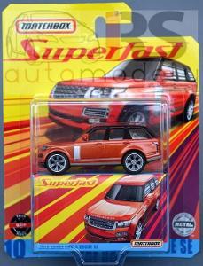 Matchbox Range Rover Vogue Superfast - poštovné v popise!