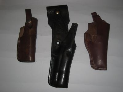 3 x pouzdro na pistoli