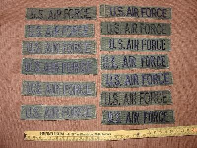 Originál US Army nášivka US AIR FORCE