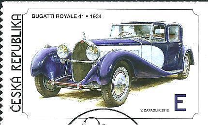 Světová auta 2012, raž. zn. smytá s raz. FDC, NL. k.č. 739.