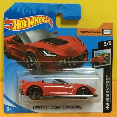 Corvette C7 Z06 Convertible - Hot Wheels 2019 95/250 (V10-c2)