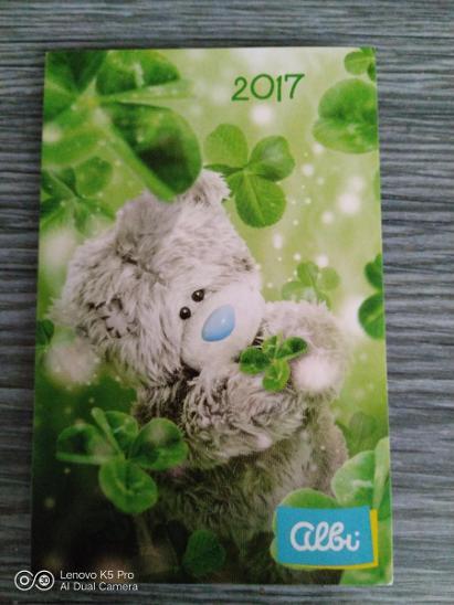 Kartičkové kalendáře rok 2017 - Ostatní