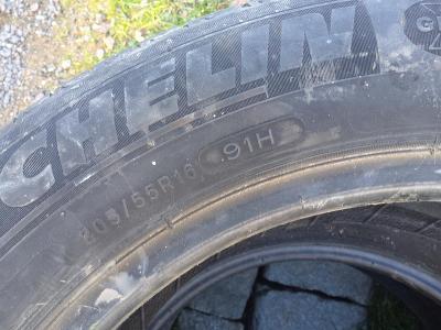 Letní pneumatiky Michelin 205/55-16