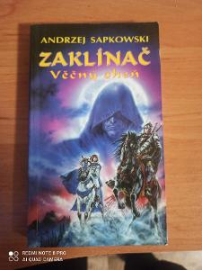 Kniha Zaklínač: Věčný oheň Adrzej Sapkowski, 1993 vydání