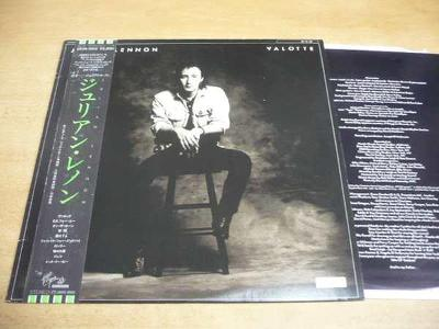 LP+příloha: JULIAN LENNON / Valotte / JAPAN OBI / SUPER STAV NM