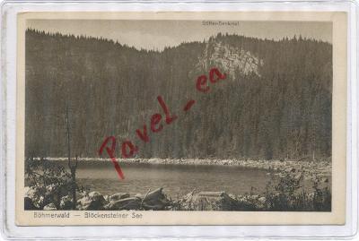 Plešné Jezero 1916  Pec Volary Planá Šumava Prachatice Krumlov 2949
