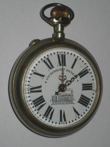 Jednoplášťové kapesní hodinky ROSSKOPF obecný kov
