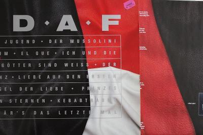 Deutsch Amerikanische Freundschaft D.A.F. LP 1988 vinyl UK Kraftwerk