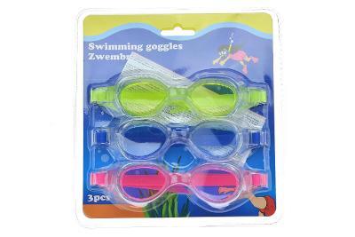 Sada dětských plaveckých brýlí - 3ks. Nové.