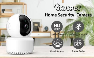 Bezpečnostní IP Kamera - FullHD 1080P - WiFi  - DadyPet / Od Korunky!
