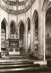 KUTNÁ HORA - chrám sv. Barbory - hlavní oltář
