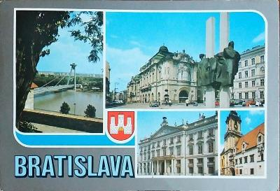 Bratislava Pohled na Most SNP