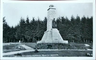 Chodsko Baarův Pomník Velmi Pěkný
