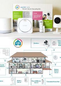 Startovní sada pro ochranu vaší domácnosti D-Link mydlink Home záruka