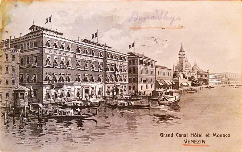Itálie Benátky  - Pohlednice