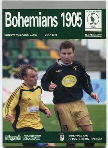 program - Bohemians 1905 - FC Bystrc Kníničky - 2007