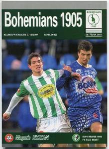 program - Bohemians 1905 - FK SIAD Most - 2007