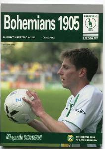 program - Bohemians 1905 - Baník Sokolov - 2007
