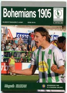 program - Bohemians 1905 - Vysočina Jihlava - 2007