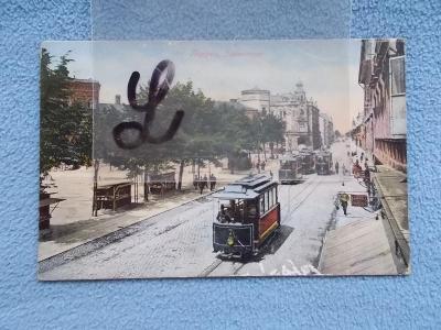 Opava Troppau Jaktař Třída  tramvaje č. 7,5,8